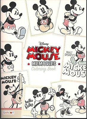 Disney Mickey Mouse Memories Advanced Coloring Book