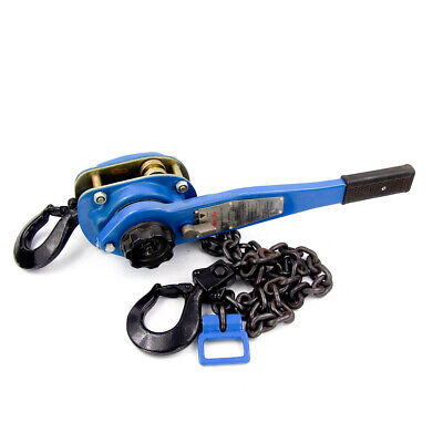 3000 lb. Lever Hoist with 5 Ft. Lift Single Chain 51 Lb Avg Pull to Lift