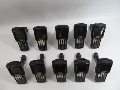 Lot (10) Motorola MC3190-GI4H04EAA Handheld Computer  Barcode Scanner W/ Battery