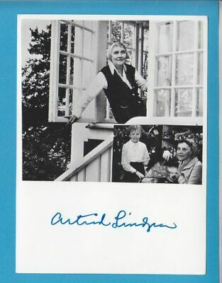 ASTRID LINDGREN in person signed glossy PHOTO  13/18 cm  AUTOGRAPH