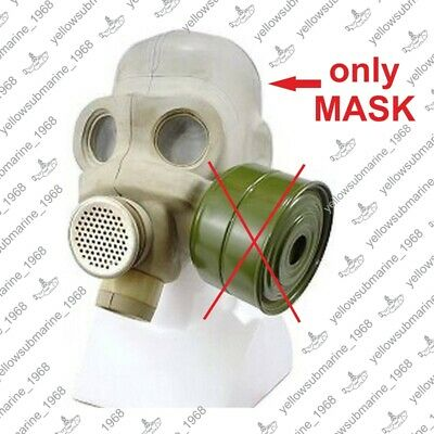 Gas mask PMG (ЕО-18) Gray Size 1,2,3 Soviet Russian Military. New. Old stock.