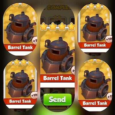 5x Barrel Tank ### Coin Master Cards (Fastest Delivery)