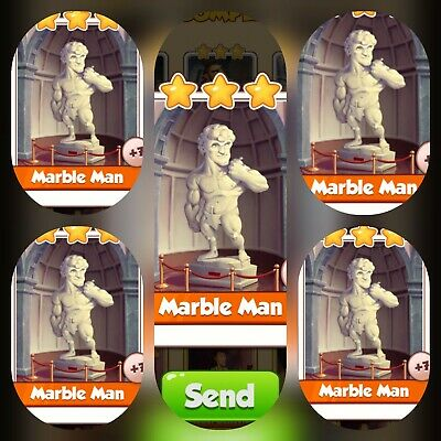 5x Marble Man ### Coin Master Cards (Fastest Delivery)