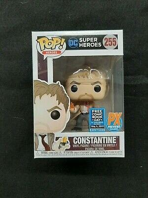Funko Pop Constantine #255 PX Previews Exclusive Free Comic Book Day 2019 NIB