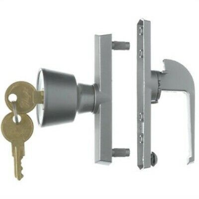 Wright Products VK333X3WH White Keyed Tie-Down Push Button Handle