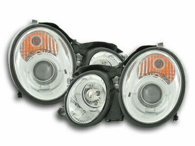 Scheinwerfer Angel Eyes Mercedes CLK Typ W208 Bj. 98-02 chrom