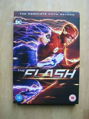 The Flash: The Complete Fifth Season [2019 DVD] 5-discs | DC TV | Region 2 UK