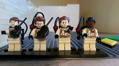 Ghost busters lego compatible minifigures