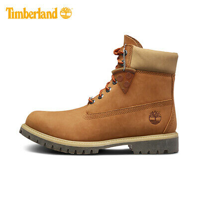 "Timberland Men's Premium 6"" Pizza Food Truck Waterproof Boots Nubuck All Sizes"