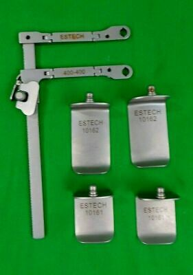 Estech 400-400 Retractor with blades Orthopedic surgery
