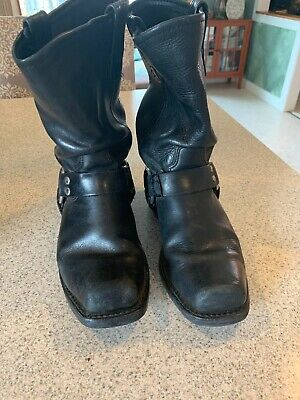 HH Double H Boot Company Mens 7.5D Black Boot