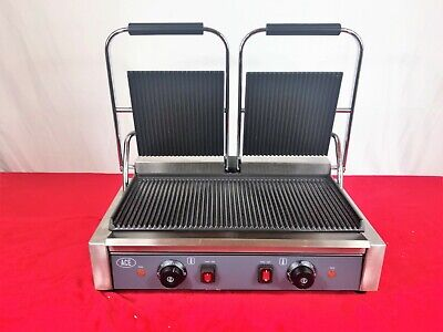 Ace Double Panini Grill / Contact Grill - EN22