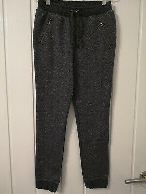 Next Girls Sparkling Grey Trousers Size 10-11 years