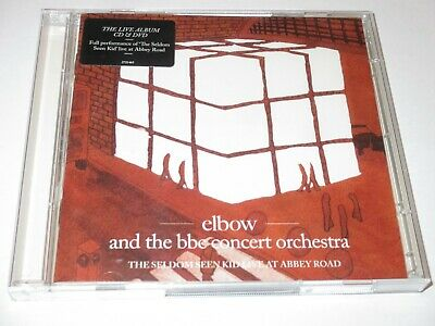 ELBOW - The Seldom Seen Kid CD + DVD BBC Concert Orchestra Abbey Road Live RARE