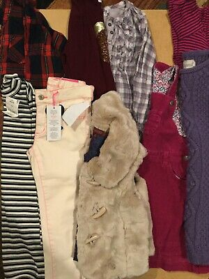 girls bundle of winter clothes, ted baker, next mayoral jo jo age 5-6 yrs vgc