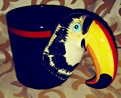 Retro 1986 Bergschrund Seattle Toucan Mug HTF! Mint! L@@K!
