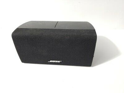 Bose Lifestyle/Acoustimass Horizontal Center Channel Double Cube Speaker TESTED