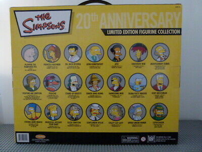 The Simpsons 20th Anniversary Limited Edition Figurine Collection 21 Figures