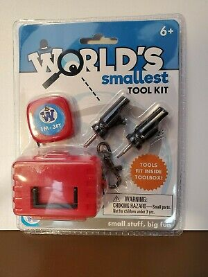 WORLD'S SMALLEST TOOLKIT - New/Sealed