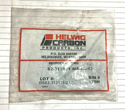 NEW HELWIG CARBON 82-313121 MOTOR BRUSH LOT OF 4  82313121