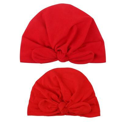 Fashion Mom Mother Baby Child Toddler Kid Knit Hat Beanie Beanie Cap JA