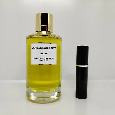 Mancera - Vanille Exclusif - 5ml SAMPLE Decant Glass Atomizer