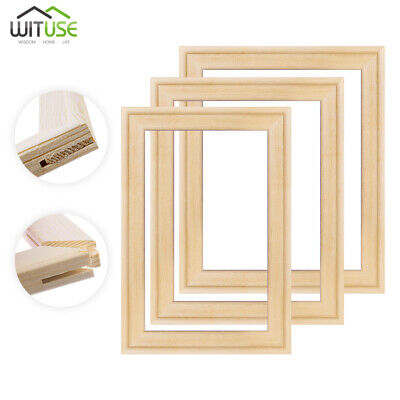Solid Canvas Stretcher Frame Premium Pine Wood Strips Bars For Oil Paintings 37