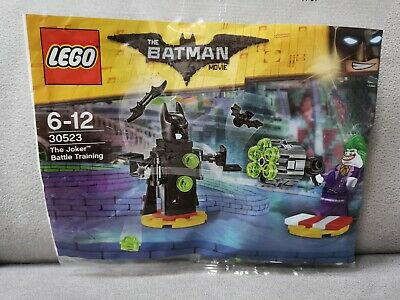 LEGO The Lego Batman Movie  The Joker Battle Training polybag  30523 NEW BARGIN