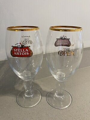 Set Of 2 Stella Artois Half Pint Glass 20oz Brand New 100/%