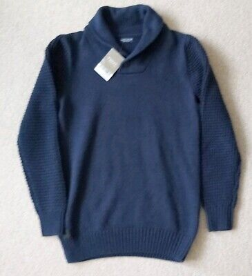 Next Boys Smart Blue Jumper Age 10 Years BNWT