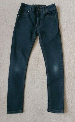 Next Boys Blue Skinny jeans Age 10 Years In Good Condition As Shown