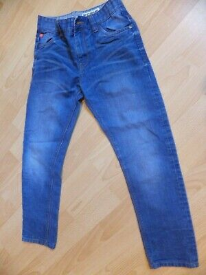 Boys bright blue jeans.  Age 11 years.  From Next.