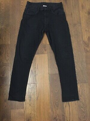 H & M Age 13-14 Boys Black Skinny Fit Jeans