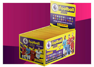 Panini 2020 Premier Football Stickers Pick Any 10  Straight From Packet  £2.00