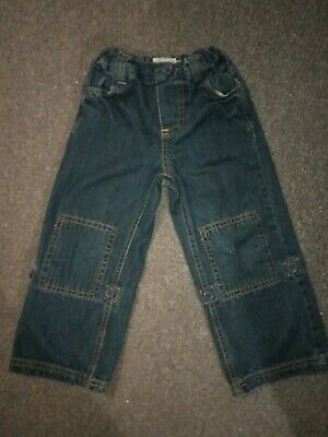 **Gorgeous** Seasalt Nippers Dark Blue Jeans Size Age 4