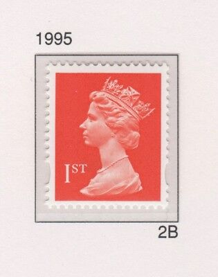 Qe2 Decimal Machin Nvi Definitive. Sg1667. Unmounted Mint.