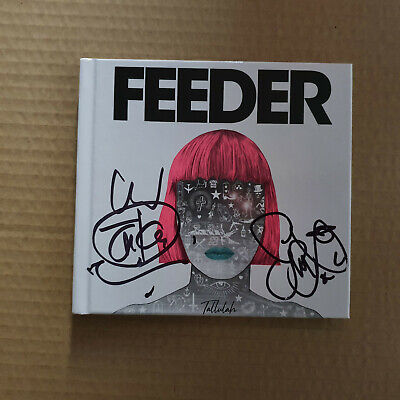 "Feeder - Tallulah Deluxe ""Book"" CD - Signed Edition - Brand New"