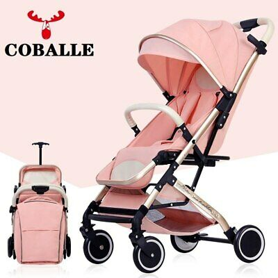 2in1 Baby Pram Stroller Foldable Lightweight Unisex Buggy Pushchair Age 0-6years