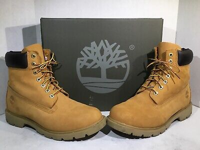 MEN'S Brown Suede Timberland's Hiking Field Boot Vintage Size 8