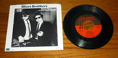 The Blues Brothers 45, Dan Akroyd, John Belushi, w/ picture sleeve Soul Man