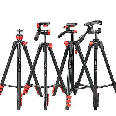 Aluminium Tripod Monopod w/ Phone Clip + Bluetooth for Digital Camera photo