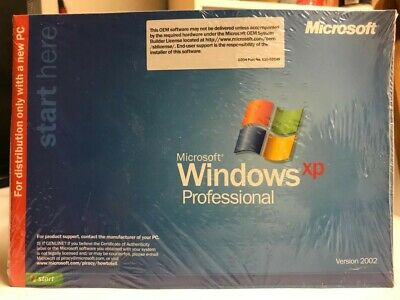 Microsoft Windows XP Professional Version 2002 - product key not included