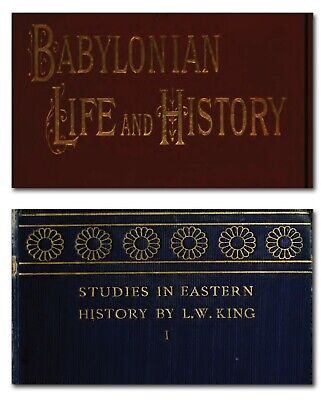 Ancient Civilization of Sumeria - Rare Books on DVD -  Archaeology Babylonian G5