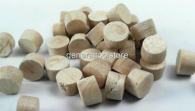 Maple Solid Wood Plugs For Covering Screws 10 Mm & 12Mm Available Choice Qty