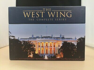 The West Wing DVD Complete Series 1-7 Collectors Box Set 44 Discs #23A