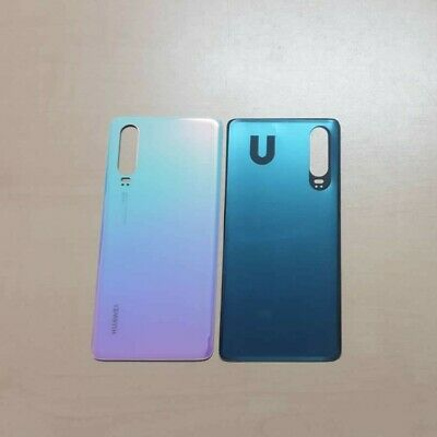Vetro Posteriore Scocca Back Cover Batteria Huawei P30 Breathing Crystal Bianco