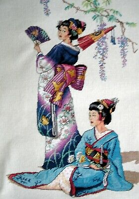 Dimensions Gold Completed Counted Cross Stitch Unframed Picture Jewels of Orient