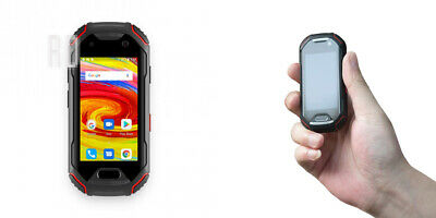 Unihertz Atom, The Smallest 4G Rugged Smartphone in the World, Unlocked Black
