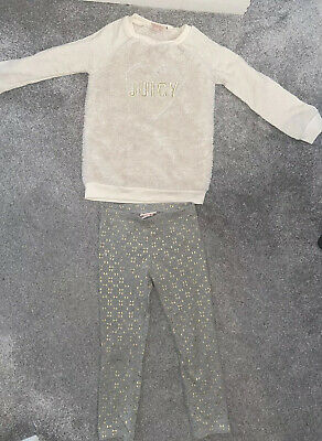 Juicy Couture Girls Jumper And Leggings Set Age 6