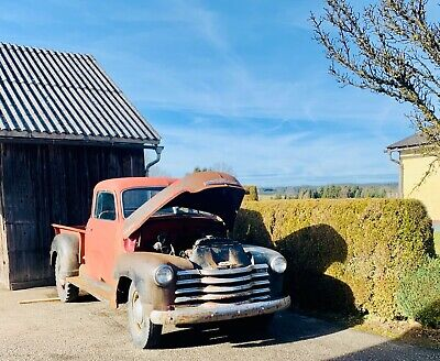 1949 Chevrolet 3600 Advance Design Pickup Truck Oldtimer Patina Thriftmaster